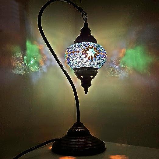 de TURQUÍA Lámpara/marroquí Lámpara Estilo Tiffany Cristal ...