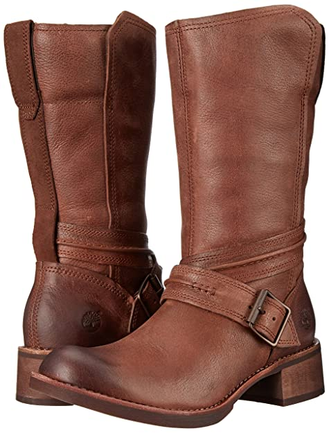 Timberland Whittemore Mid Side, Bottes de Moto Femme