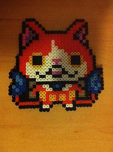 Pixel Art Hama Beads Yo Kai Watch Amazonfr Handmade