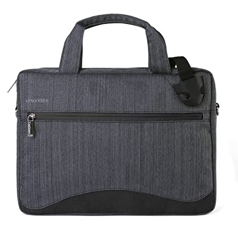 Amazon.com: Vangoddy Wave 13 Laptop Shoulder Bag (Black) for ...
