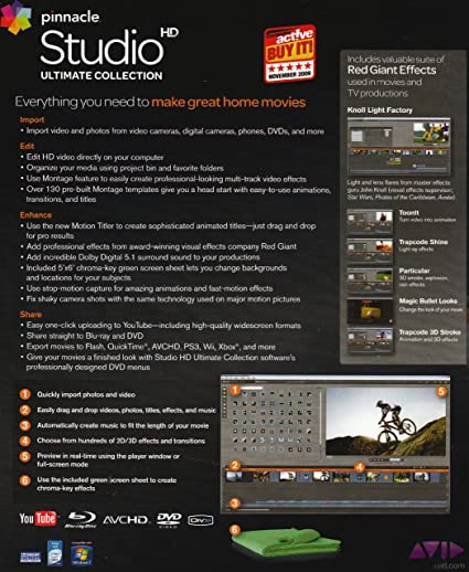 Pinnacle Studio Ultimate Collection 14 HD (PC DVD): Amazon.es: Software