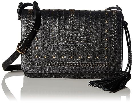 178641b72d STEVEN by Steve Madden Alina Cross Body Handbag, Black: Handbags: Amazon.com