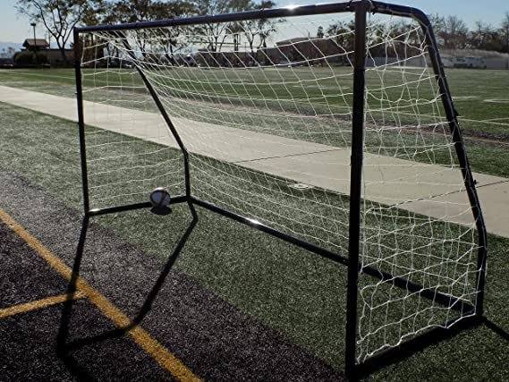 196c2be49bd Amazon.com   Vallerta Premier 12 X 6 Ft. AYSO Youth Regulation Size Soccer  Goal w Weatherproof 4mm Net. 50MM Diameter Black Powder Coated Corrosion ...