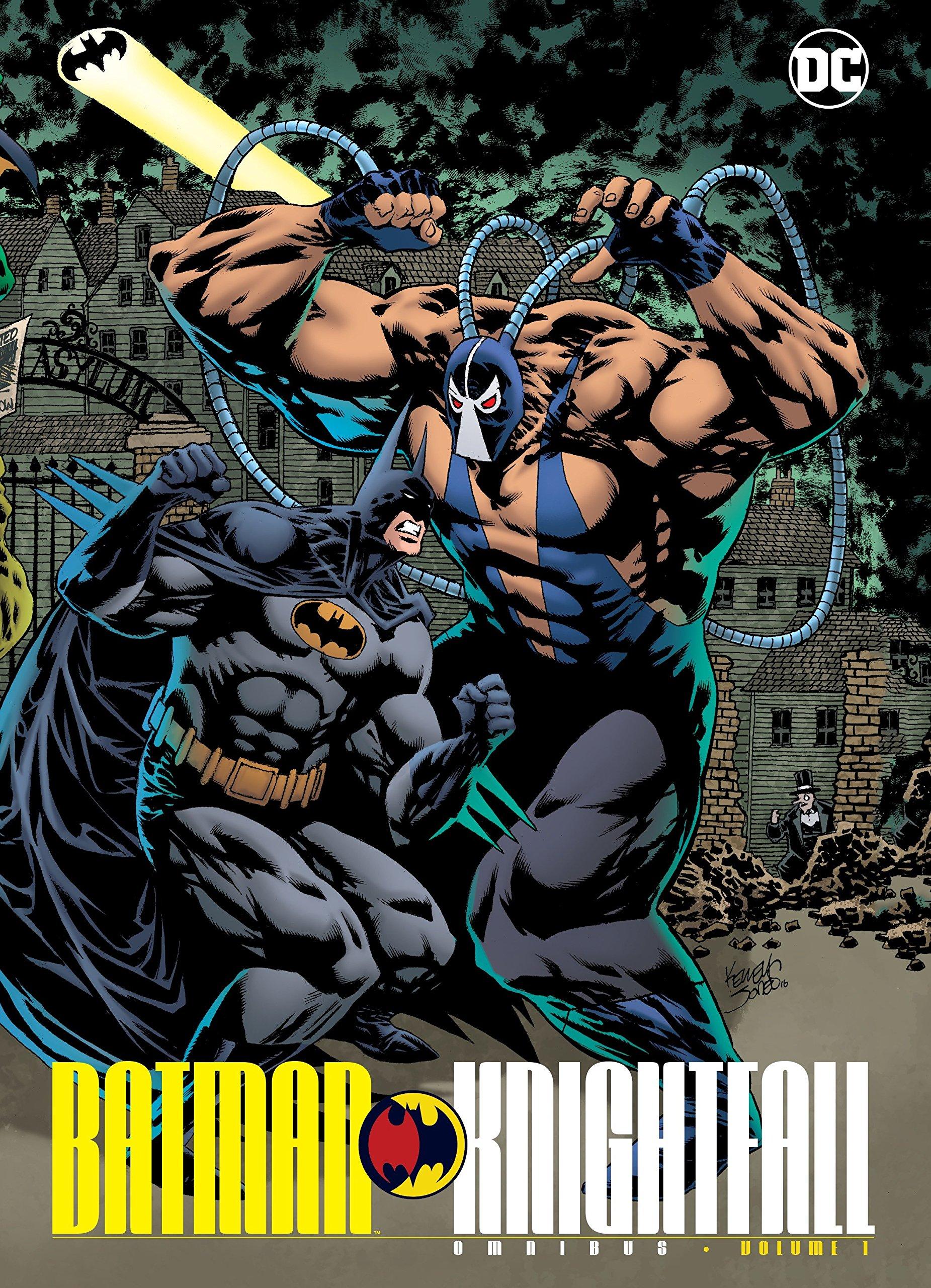 Amazon com: Batman: Knightfall Omnibus Vol  1 (9781401270421): Chuck