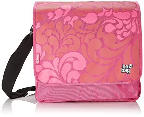 Herlitz Messenger Bag Umhängetasche, Be.Bag Ornament Pink