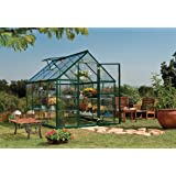 Palram Nature Harmony Greenhouse, 6' wide x 8' long