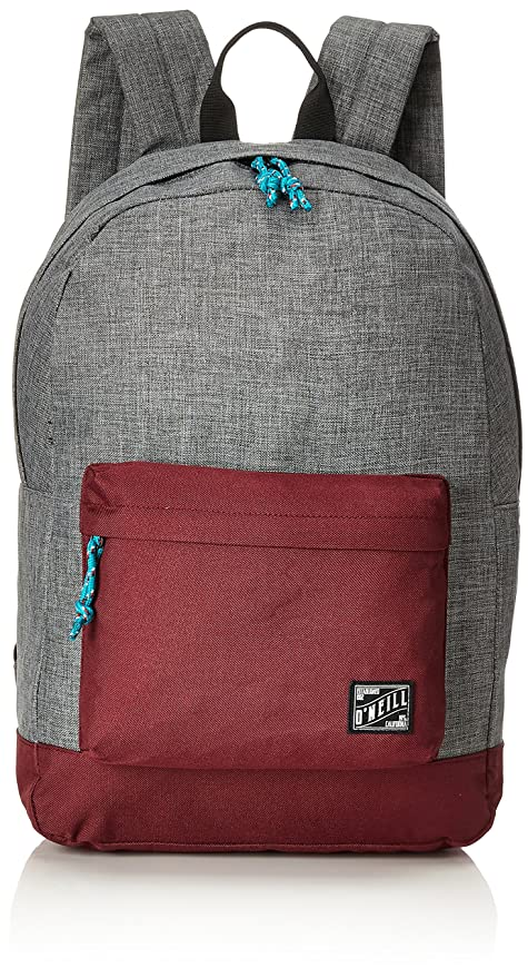 ONeill - Bm Coastline Backpack, Mochilas Hombre, Grau (Mid Grey Melee