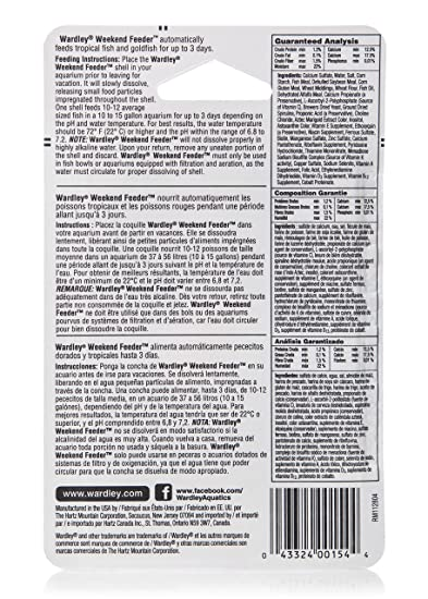 Amazon.com : Wardley Tropical Fish Flakes Clear Water with Probiotics, 2oz : Pet Supplies