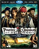 Pirates of the Caribbean: On Stranger Tides 3D (Limited Edition) [Blu-ray 3D + Blu-ray + DVD + Digital Copy]