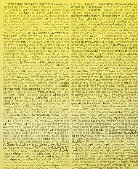 Dr. Schar Ciocko Sticks Galletas - 150 gr: Amazon.es: Alimentación y bebidas