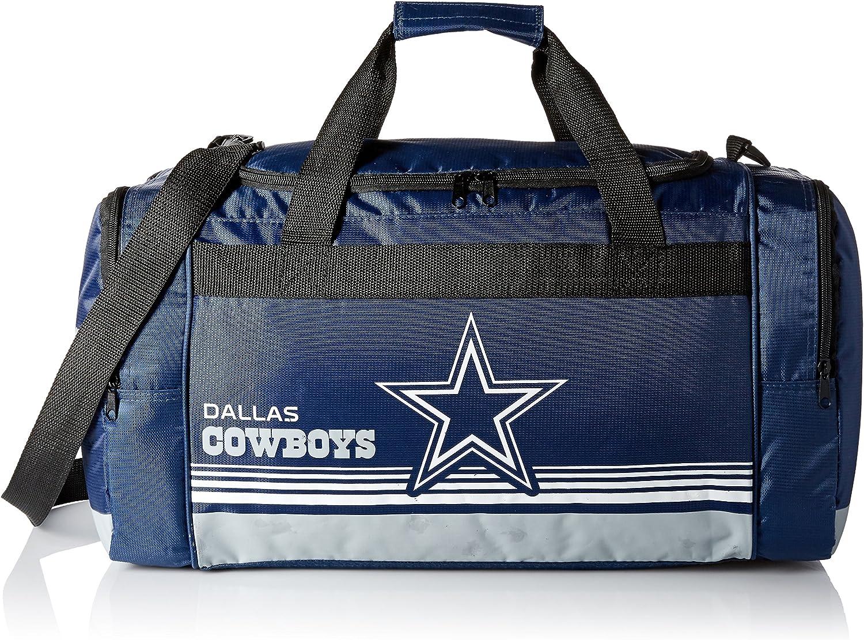 Dallas Cowboys Medium Striped Core Duffle Bag : Clothing
