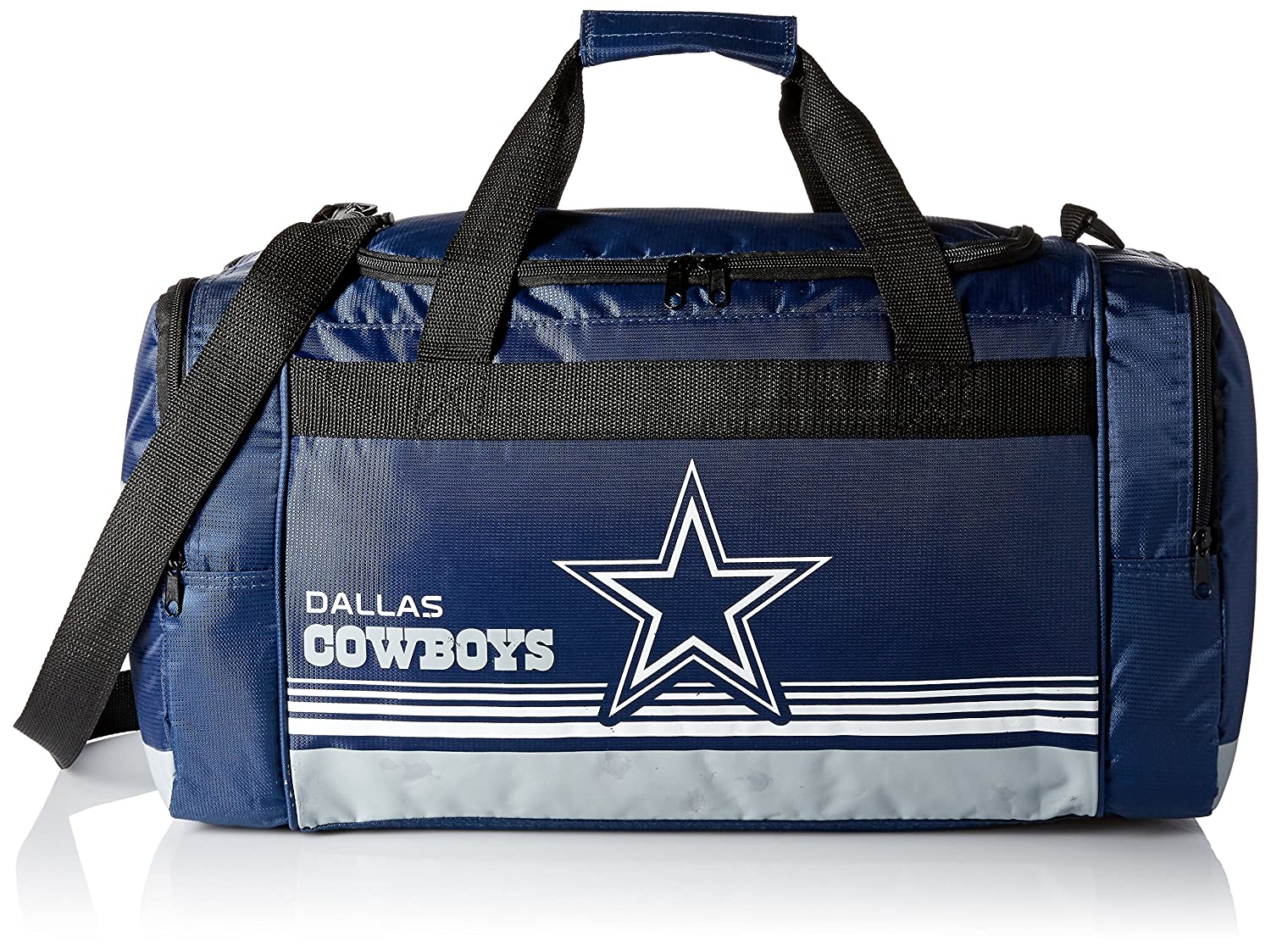 Dallas Cowboys Medium Striped Core Duffle Bag