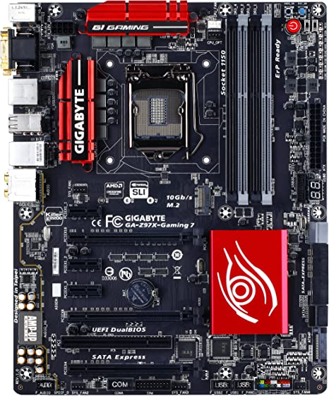 Gigabyte GA-Z97X-GAMING 7 LGA 1150 Z97 Gaming Audio Networking ATX Motherboard