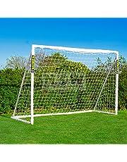 FORZA 3m x 2m But de Futsal PVC Imperméable avec Système de Verrouillage (avec Mur de Tir Optionnel) [Net World Sports]