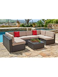 brown set patio source outdoor. Outdoor Sofas Brown Set Patio Source