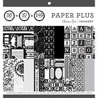 """ColorBok 68280B Paper Plus Pad Chateau Noir, 12"""" x 12"""""""
