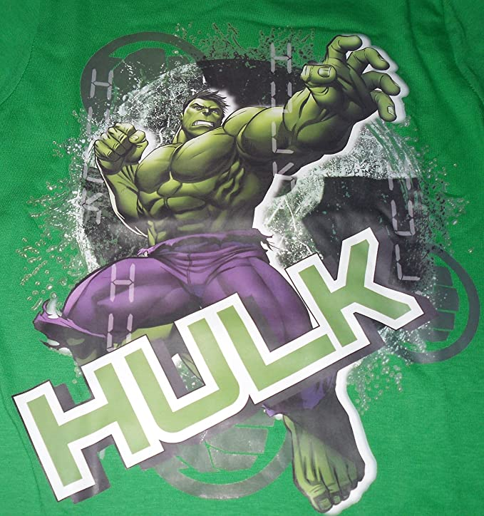 Incredible Hulk Marvel Avengers - Pijama Dos Piezas - para niño: Amazon.es: Ropa y accesorios