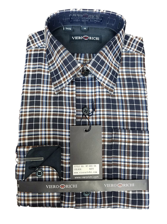 Boys Plaid Shirts 60136