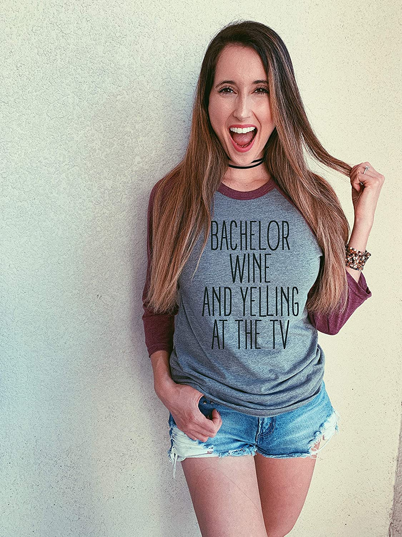 the bachelor tv show shirt bachelor tv show shirts for women Bachelor Wine and Yelling at the TV