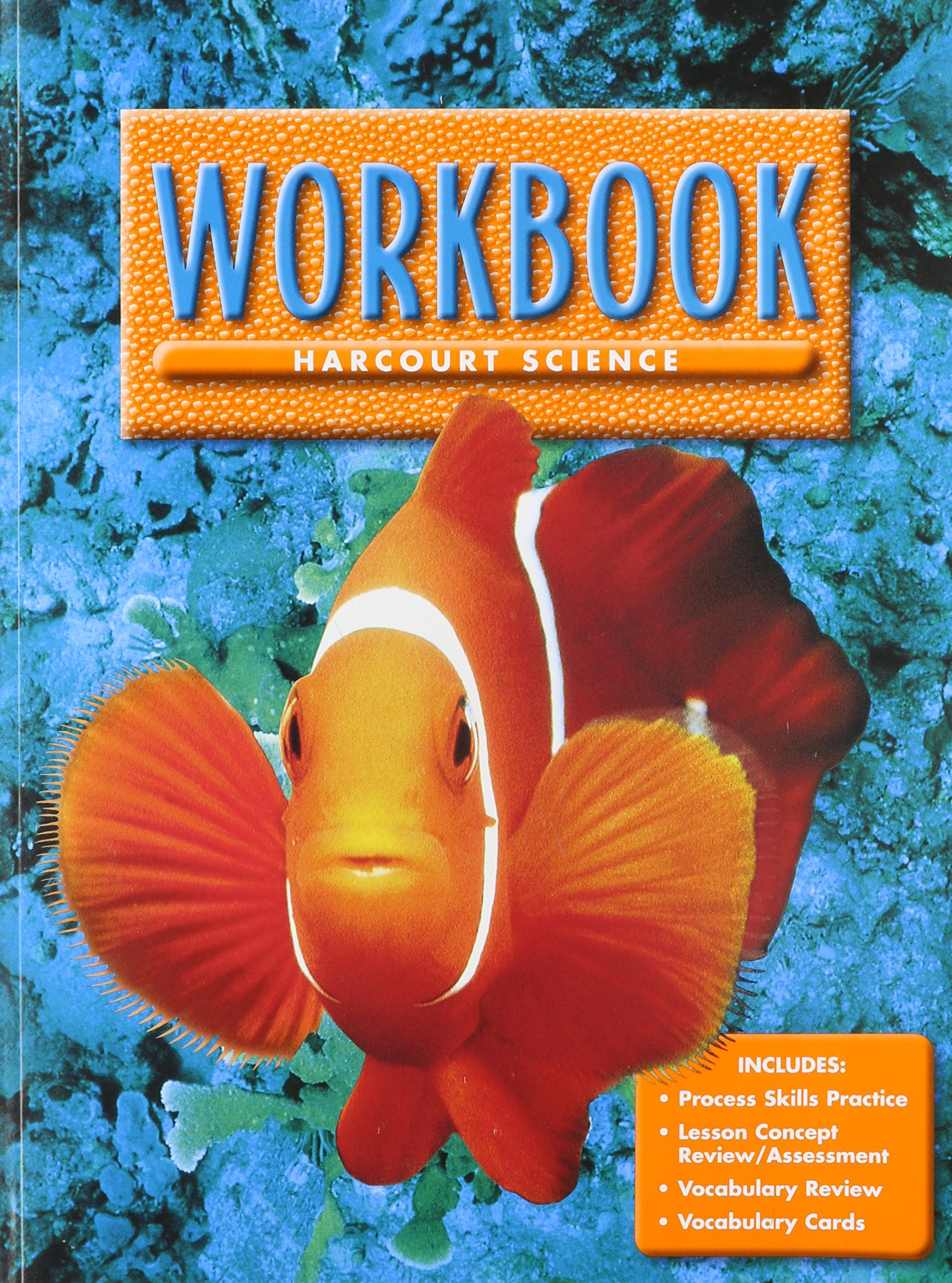Harcourt Science, Level 1 Workbook: HARCOURT SCHOOL PUBLISHERS:  9780153131783: Amazon.com: Books