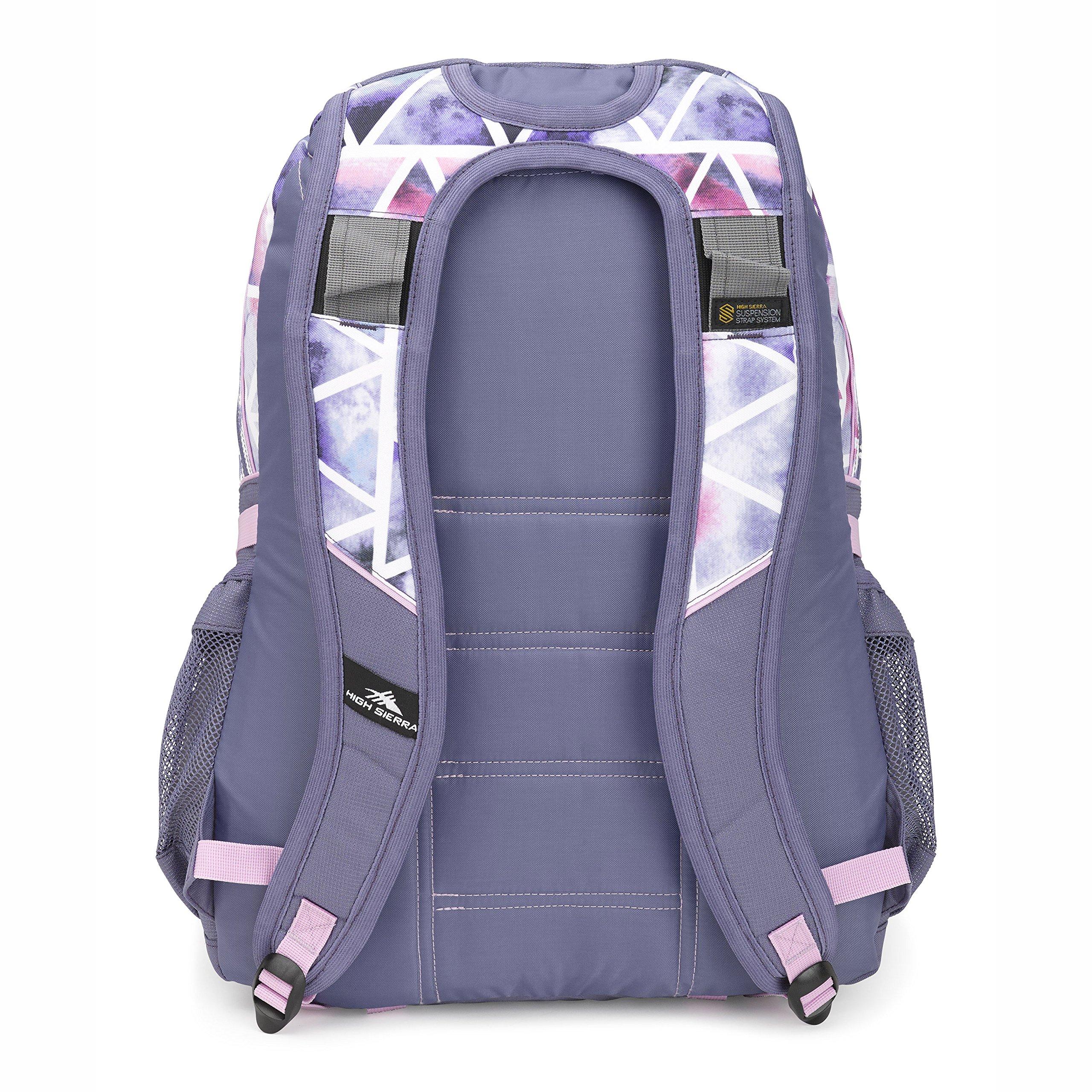 High Sierra Loop Backpack Dreamscape/Purple Smoke by High Sierra (Image #3)