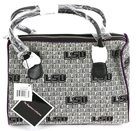 c6fae22382c Amazon.com : bagamore collection University of Louisiana Bowler Bag-LSU  Tiger Bowler Bag-LSU Bowler Bag : Sports & Outdoors