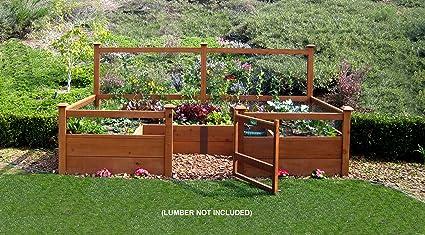 Just Add Lumber Vegetable Garden Kit   6u0027x12u0027 Deluxe
