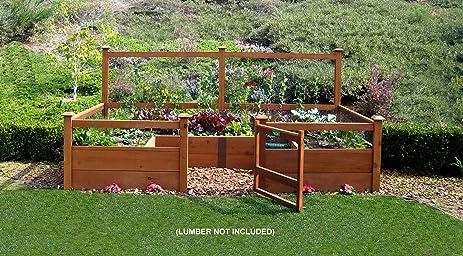 Good Just Add Lumber Vegetable Garden Kit   6u0027x12u0027 Deluxe