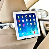 """Bestrix Universal Headrest Tablet Car Mount Holder for iPad Air2/3/4/Mini, Galaxy Tab 3/4, Nexus 7, Kindle Fire HD 6/7 Fire HDX 7/8.9 Fire 2 and all Tablet Devices 7"""" to 11"""" 360° Rotating"""