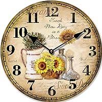 Tinas Collection Orologio da parete, orologio shabby chic da parete, orologio muro, orologio per cucina