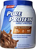 Pure Protein 100 % Whey Protein, Rich Chocolate, 2 Pounds