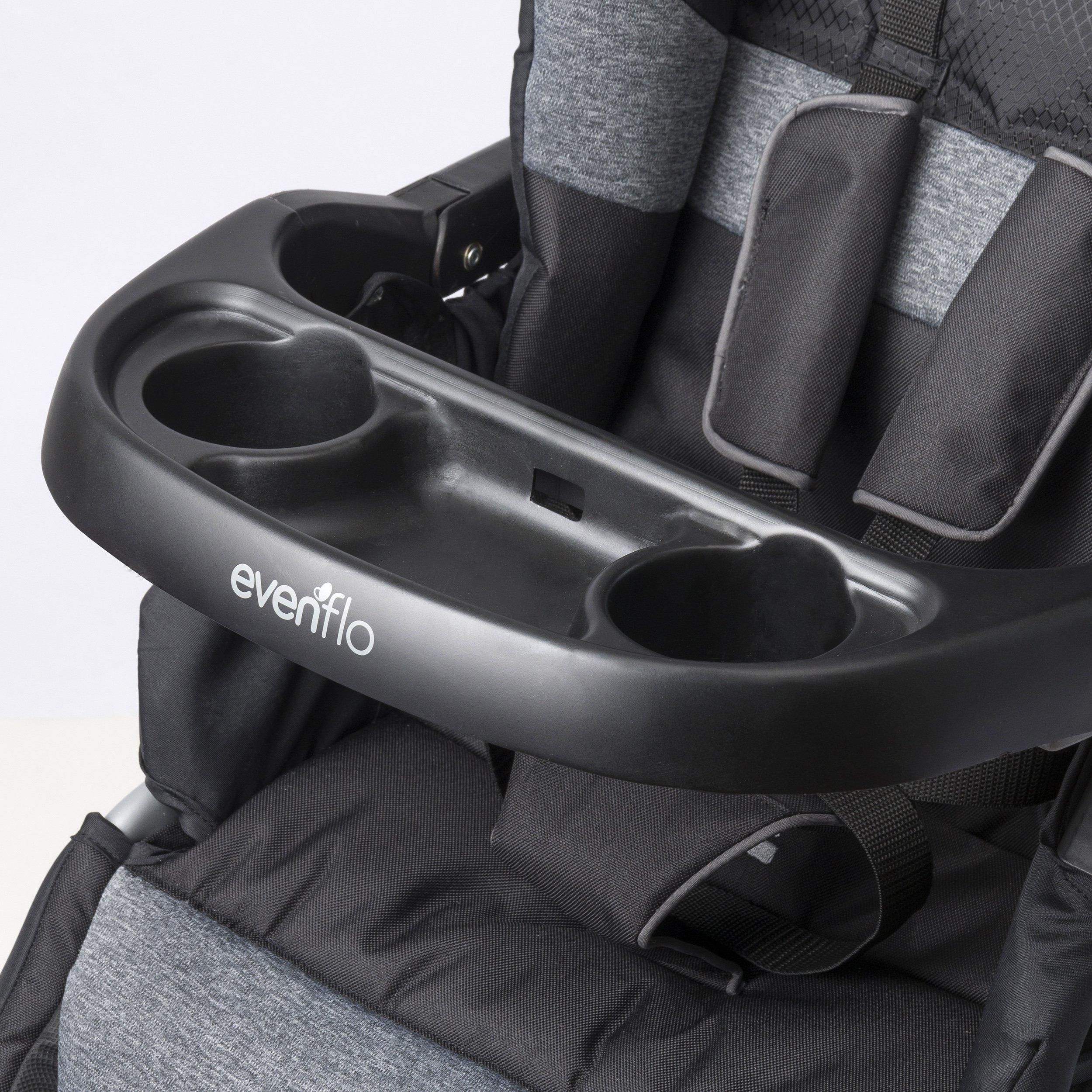 Evenflo Advanced SensorSafe Epic Travel System with LiteMax Infant Car Seat, Jet by Evenflo (Image #11)