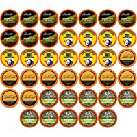 Two Rivers Coffee Light Roast Coffee Pods, Compatible with 2.0 Keurig K-Cup Brewers, Assorted Variety Sampler Pack, 40…