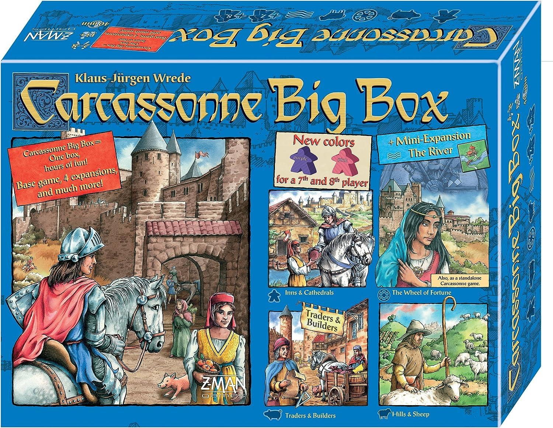 Carcassonne - Big Box 5 - Board Game - English: Amazon.es: Juguetes y juegos