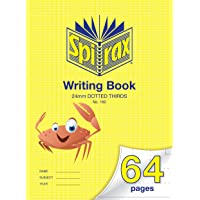Spirax 160 335MM x 240MM Writing Book with 24MM Dotted Thirds (64 Pages)