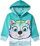 Nickelodeon Paw Patrol Character Big Face Zip-up Hoodies - Skye, Ryder, Everest - Toddlers