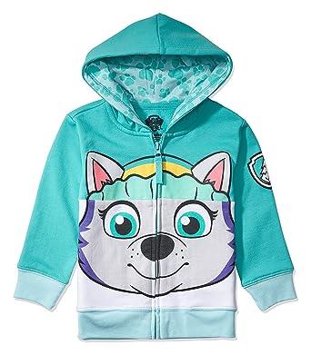 Nickelodeon Toddler Paw Patrol Character Big Face Costume Zip-up Hoodies  (2T 47f445bc3b