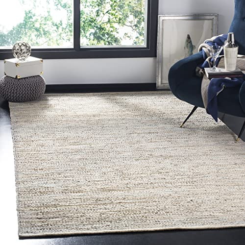 Safavieh Vintage Collection Beige Leather Area Rug