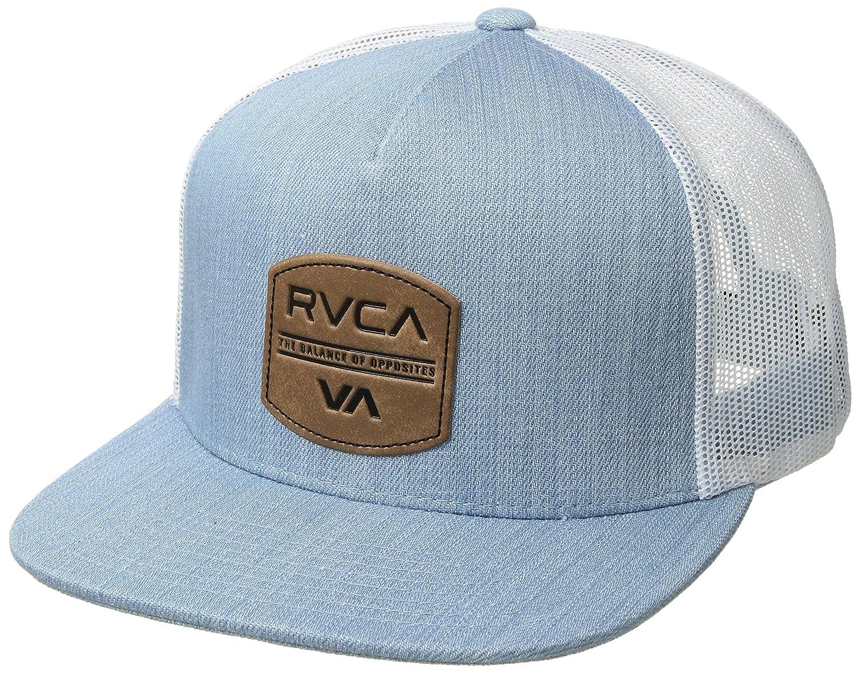 a95477350c1 RVCA Men s Denim Trucker HAT Baseball Cap