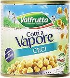 Valfrutta - Ceci, Cotti a Vapore- pacco da 3x150g (450g)