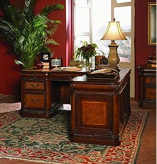 Amazon Com Vineyard Italian Style Executive Desk Home Office