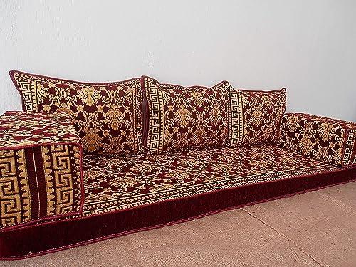 arabic floor seating,arabic sofa,arabic couch,floor seating sofa,oriental  seating,bar decor,arabic furniture - MA 63