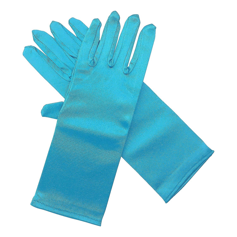 La Se/ñorita Elsa Frozen Fever gants blue de D/éguisement pour Filles de Costume Princesse Elsa one size, bleu
