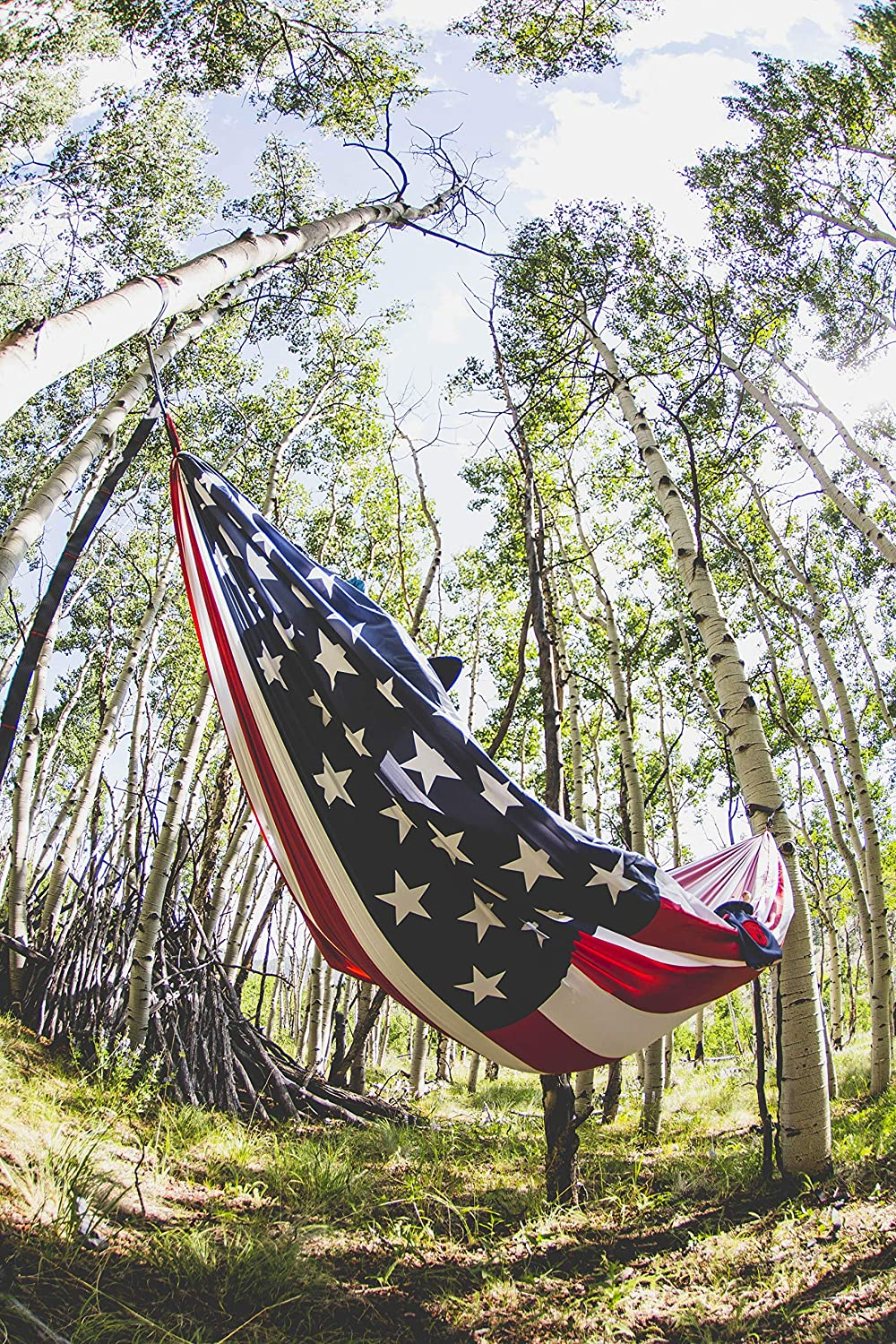 Portable with Carabiners and Haning Kit Backpacking Perfect for Outdoor Adventures SH-FLAG Grand Trunk Flag Series Single Parachute Nylon Hammock Portable with Carabiners and Haning Kit and Festivals South Carolina Perfect for Outdoor Adventures
