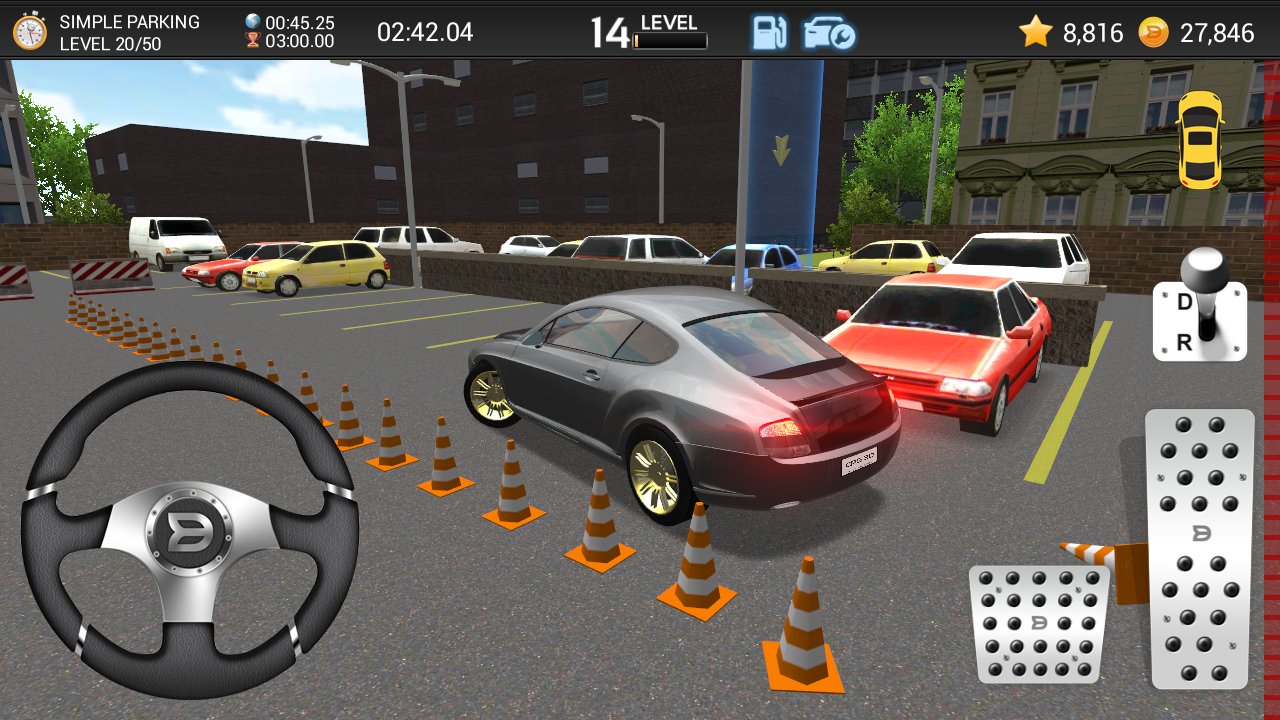 Play Car Parking 3D online for Free - POG.COM