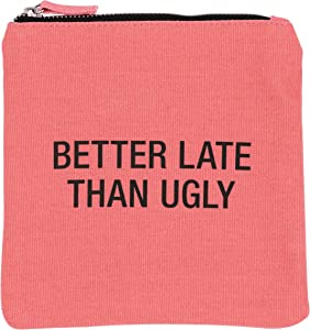 About Face Designs Better Late Cosmetic Bag, 6.75