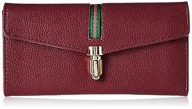 Alessia74 Women's Wallet (Maroon)