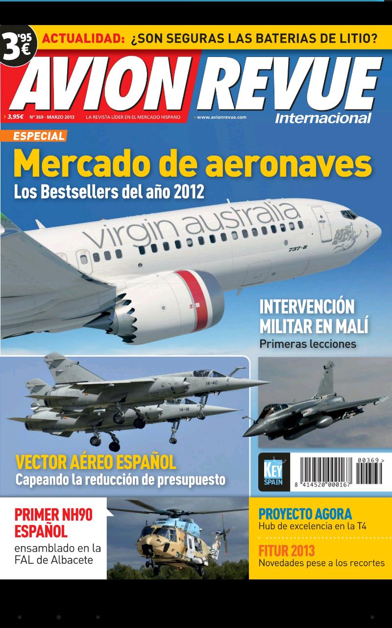 Avion Revue Internacional España: Amazon.es: Appstore para