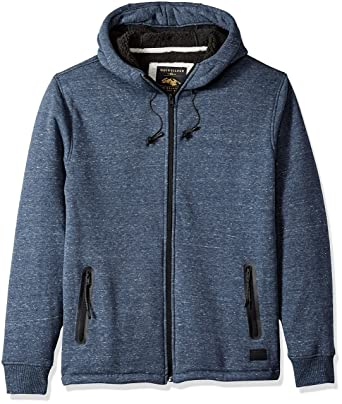 Quiksilver Men's Kurow Sherpa Fleece Zip