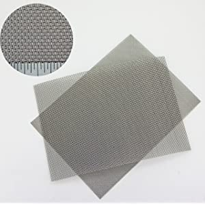 Black PVC Insect Mesh For Roof Fascias and Soffits 100mm x 30m roll